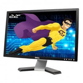 """Ecran PC 22"""" DELL E228WFPc 0DT867 DT867 TFT VGA DVI VESA 1680x1050 16:10 Wide"""