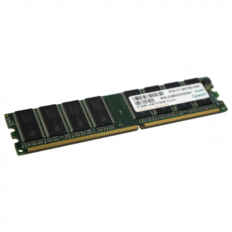 512Mo RAM PC Bureau APACER 77.G0739.43G DIMM DDR PC-3200U 400MHz CL2.5