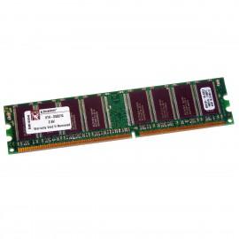 1Go RAM KINGSTON KTH-D530/1G DDR1 PC-3200U 400Mhz 184-Pin 2.6v PC Bureau