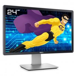 "Ecran PC 24"" Dell P2414Hb 036WJX 36WJX LCD TFT VGA DVI-D USB Display VESA Wide"