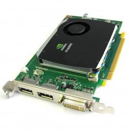 Carte HP NVIDIA Quadro FX580 508283-001 519295-001 512Mo DDR3 PCIe DVI 2xDisplay