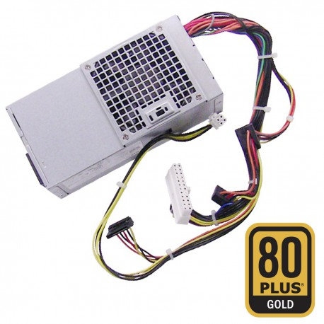 Alimentation PC DELL L250ED-00 0DY72N DY72N PS-5251-11DA 3010 7010 DT GOLD 250W