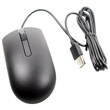 Souris Optique Filaire USB DELL MS116p 009NK2 09NK2 3 Boutons 1000-DPI Noire