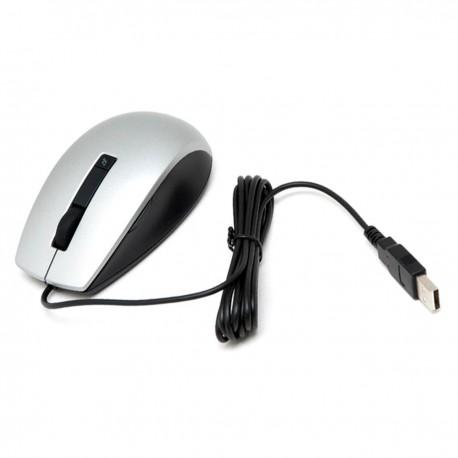 Souris Filaire USB DELL MOCZUL 049TWY 49TWY Gris Noir 6 Boutons DPI Ajustable