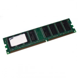 Ram Barrette Memoire SAMSUNG 512Mo DDR1 PC-3200U 400Mhz M368L6423FUN-CCC CL3
