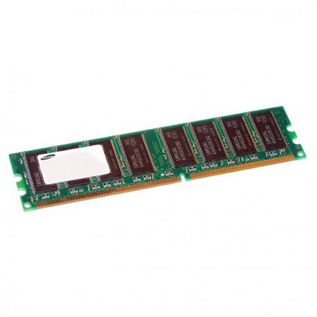 Ram Barrette Memoire SAMSUNG 512Mo DDR1 PC-2700U 333Mhz M368L6423ETN-CB3 CL2.5