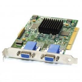 Carte Graphique MATROX Millennium MGA G450 G45+MDHP16DB 16Mo DDR PCI Dual VGA