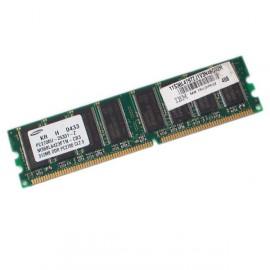 512Mo Ram SAMSUNG M368L6423FTN-CB3 184-PIN DDR1 PC-2700U 333Mhz CL2.5