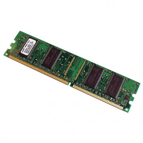 Ram Barrette Memoire SAMSUNG 128Mo DDR1 PC-2700U 333Mhz M368L1624DTM-CB3 CL2.5