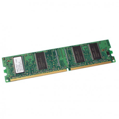 Ram Barrette Memoire HYNIX 128Mo DDR1 PC-2700U 333Mhz HYMD216646A6J-J CL2.5