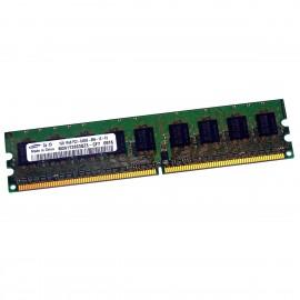 1Go RAM Serveur Samsung M391T2863QZ3-CF7 DDR2 PC2-6400E ECC 800Mhz 1Rx8 1.8v CL6