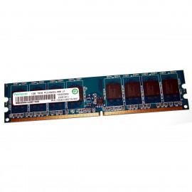 1Go RAM RAMAXEL RML1520EC48D7W-800 DDR2 PC2-6400U 800Mhz 1Rx8 1.8v CL6 PC Bureau