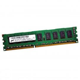 1Go RAM Serveur Micron MT9JSF12872AZ-1G4F1 PC3-10600E ECC 1333Mhz 1Rx8 1.5v CL9