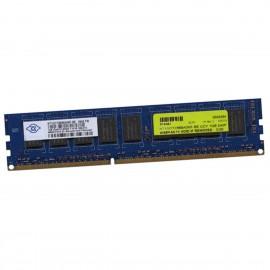 1Go RAM Serveur NANYA NT1GC72B89A0NF-BE PC3-8500E ECC 1066Mhz 1Rx8 1.5v CL7