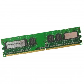512Mo RAM Princeton VPM533NU004/512/K DDR2 PC2-4200U 533Mhz 240Pin CL4 PC Bureau