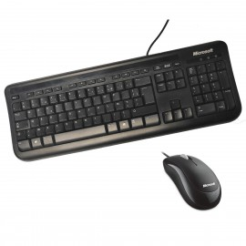 Clavier Souris USB Microsoft Wired Desktop 400 5MH-00013 AZERTY 106 touches NEUF