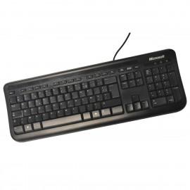 Clavier USB AZERTY Microsoft Wired Keyboard 400 1366 X818768-047 X818868-020