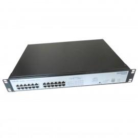 Switch Rack 24 Ports RJ-45 ENTERASYS VH-2402S 10/100Mbps Fast Ethernet DB-9M