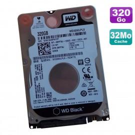 "Disque Dur 320Go SATA 2.5"" WD Black WD3200LPLX-75ZNTT0 0MPTNJ 7200RPM 32Mo"