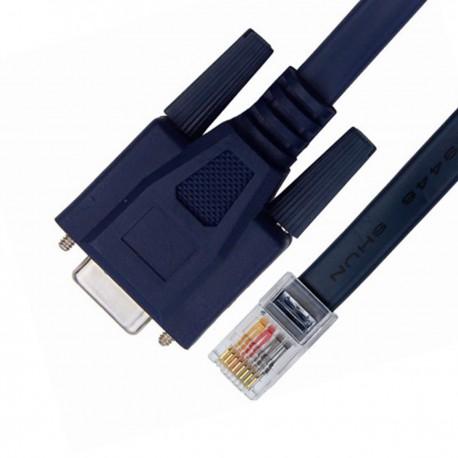 Câble Adaptateur DB9 vers RJ-45 CISCO H04042967 H0404A06R 120cm Bleu NEUF