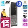 PC Dell 390 DT Intel i5-2400 RAM 8Go SSD 120Go Graveur DVD Wifi W7