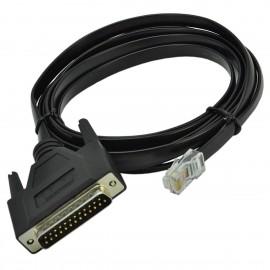 Câble CISCO 72-3663-01 D25M RJ-45 Console Modem NEUF