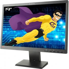"Ecran PC 19"" Lenovo ThinkVision L1951pwD 45J8732 VGA DVI VESA 16:10"