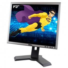 """Ecran Plat PC 19"""" DELL P190St 062WP2 62WP2 LCD TFT VGA DVI-D 4x USB 5:4 VESA"""