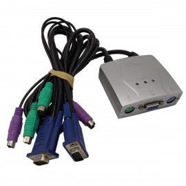Switch KVM C20000811M130127 Dual VGA Dual PS/2