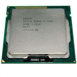 Processeur CPU Intel Xeon E3-1240 3.30Ghz SR00K LGA1155 Quad Core 8Mo