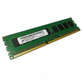 4Go RAM Serveur Micron MT18KSF51272AZ-1G6K1 DDR3 PC3-12800E ECC 2Rx8 1600Mhz