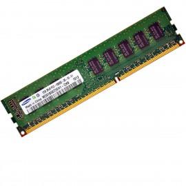 2Go RAM ECC Serveur Samsung M391B5673EH1-CH9 DDR3 PC3-10600E 2Rx8 1333Mhz CL9