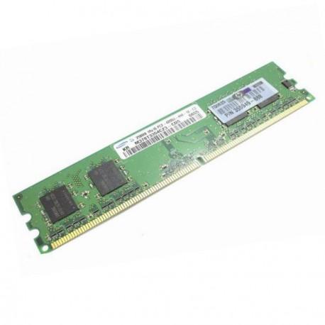 Ram Barrette Memoire SAMSUNG 256Mo DDR2 PC2-4200U 533MhzM378T3354CZ3-CD5