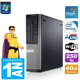 PC DELL 390 DT Intel G630 RAM 4Go Disque Dur 250 Go Wifi Win XP Pro