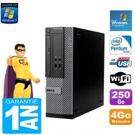 PC DELL 390 SFF Intel G630 RAM 4Go Disque Dur 250 Go Wifi Windows XP Pro