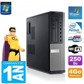 PC DELL 7010 DT Intel G840 RAM 4Go Disque Dur 250 Go DVD Wifi Windows XP Pro