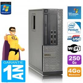 PC DELL 7010 SFF Intel G840 RAM 4Go Disque Dur 250 Go DVD Wifi Windows XP Pro