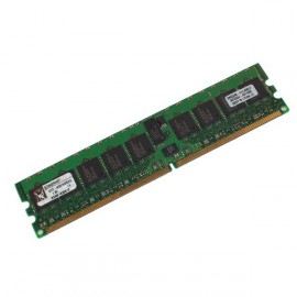 Ram Serveur KINGSTON 1Go DDR2 PC2-3200R Registered ECC 400Mhz KTD-WS670 CL3