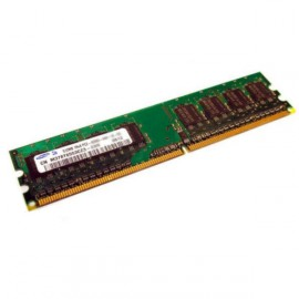 512Mo Ram SAMSUNG M378T6553CZ3-CD5 240-PIN DDR2 PC2-4200U 533Mhz 1Rx8 CL4