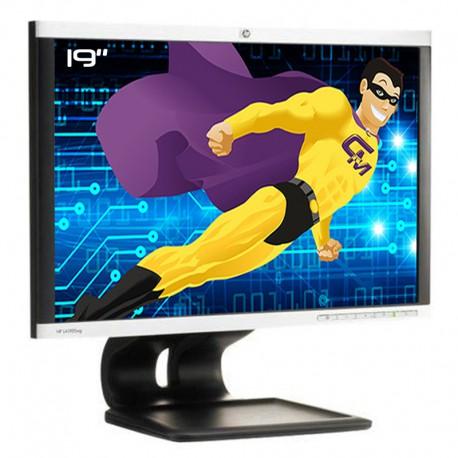 """Ecran PC 19"""" HP LA1905wg HSTND-2701-A NM360A 519147-001 VGA DVI Display USB"""