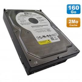 """Disque Dur 160Go SATA 3.5"""" Western Digital Caviar SE WD1600AABS-56PRA0 7200RPM 2Mo"""