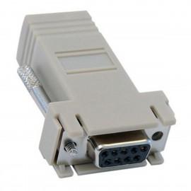 Adaptateur Série DB-9 Femelle Réseau RJ-45 Ethernet CISCO 74-0495-01