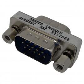 Adaptateur Mini-Changeur D-SUB 15-Pin M/M 9217560 Série