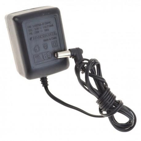 Chargeur BLACK&DECKER 5102293-13 SD36C Adaptateur Secteur 5.2V