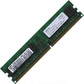 Ram Barrette Mémoire SAMSUNG M378T6553BG0-CD5DS 512Mo DDR2 PC2-4200U 533Mhz
