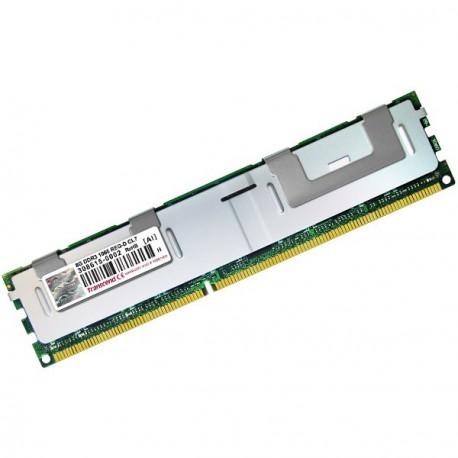 Ram Serveur TRANSCEND 8Go DDR3 PC3-8500R Registered ECC 1066Mhz TS1GKR72V1N CL7