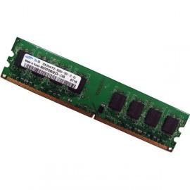 1Go Ram Barrette Mémoire SAMSUNG DDR2 PC2-5300U 667Mhz M378T2953EZ3-CE6 CL5