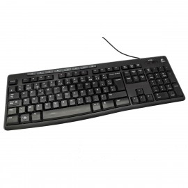 Clavier PC AZERTY USB Logitech K200 Y-U0011 820-003155 112 Touches
