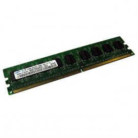 512Mo Ram Barrette Mémoire SAMSUNG M378T6553EZS-CE6 DDR2 PC2-5300U 667Mhz CL5