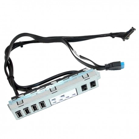 Front Panel I/O Dell 05F85N 5F85N Optiplex 7020 9020 MT 4x USB Audio IN/OUT